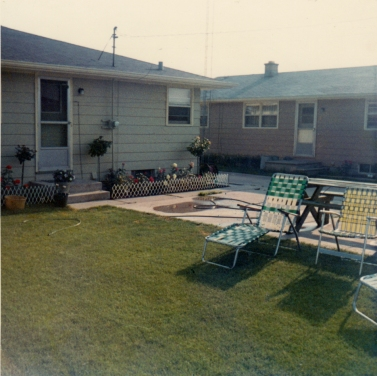 Summer with lawn chairs, 1971
